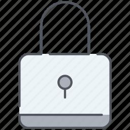 locked, padlock, password, privacy, protection, safe, serucity icon