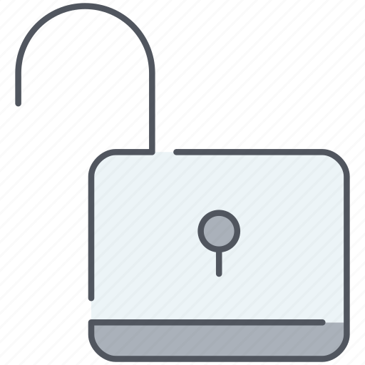 lock, padlock, password, privacy, protection, safety, unlocked icon