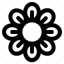 elements, flower, interface, ui, user, web icon