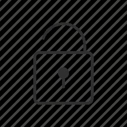 broken, insecure, key lock, risk, theft, unlocked, unsafe icon