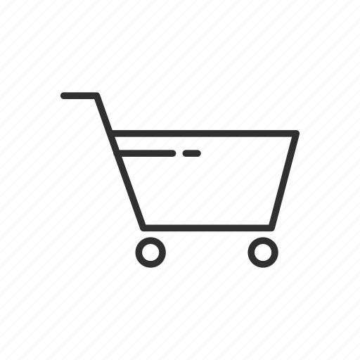 cart, checkout, ecommerce, grocery cart, shopping cart icon