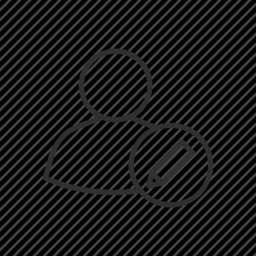 edit client, edit customer, edit user, modify client, modify customer, modify user icon