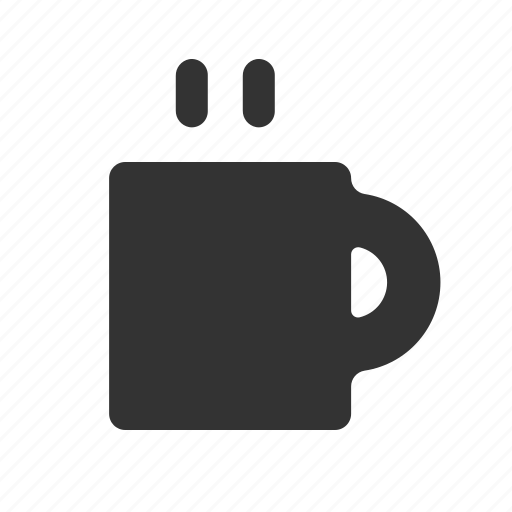 beverage, coffee, coffee glyph, cup, cup of coffee, drink, hot beverage, mug icon