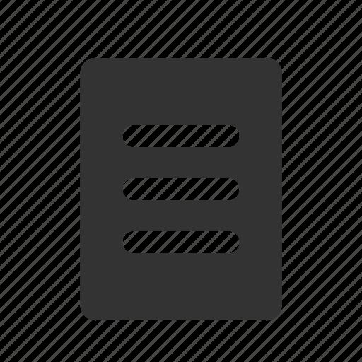 board, board glyph, clipboard, list, list of things, paper, read, write, write on icon