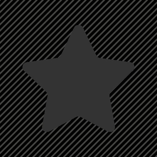 bookmark, enjoy, favorite, like, save, save to, star, star glyph icon