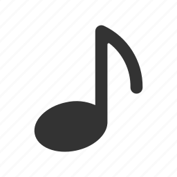 listen, melody, music, music note, music note glyph, note, play, sound icon