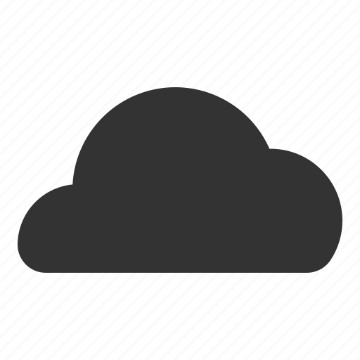 cloud glyph, clouds, could, ios cloud, online storage, storage, weather icon