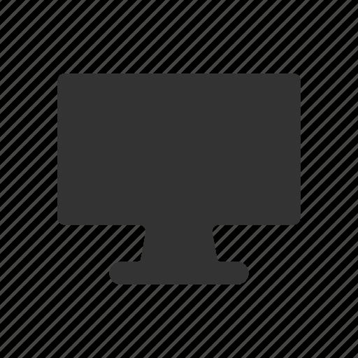 display, monitor, monitor glyph, pc monitor, pc screen, screen, screen glyph icon