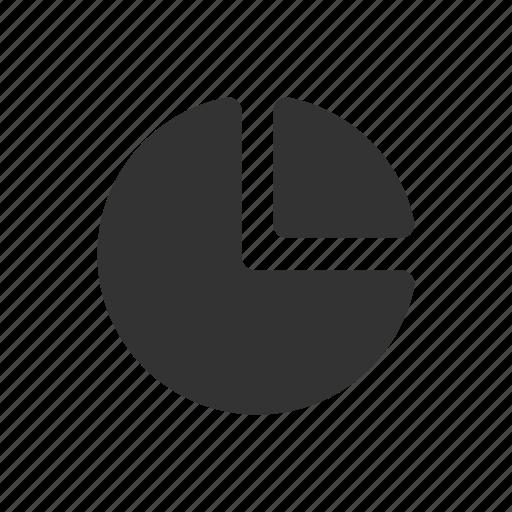 analyse, analytics, chart, graph, pie chart, report, shart glyph, statistics icon