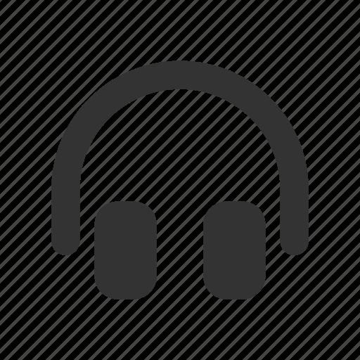 headphones, headphones glyph, headset, headset glyph, listen, music, remote music icon