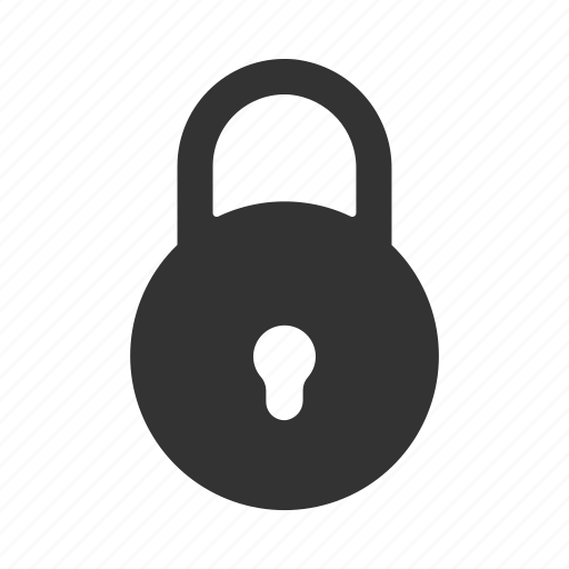 lock, lock glyph, protect, protected, protection, safe, save, unlock icon