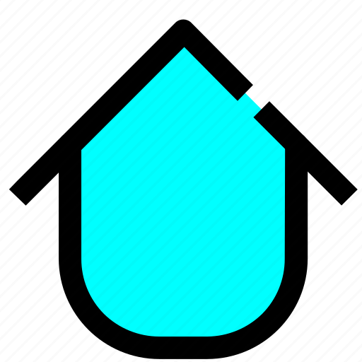 field, home, interface, user icon