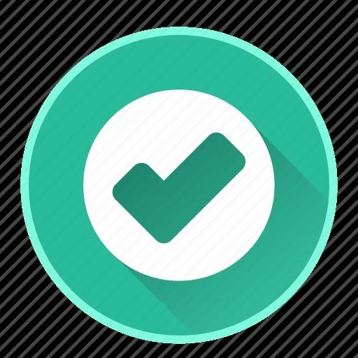 accept, check, done, ok icon