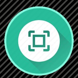expand, maximize, zoom icon