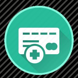 add, casino, debit, money, payment icon