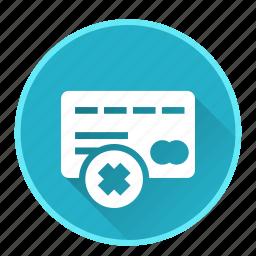 casinoblock, debit, money, payment, remove icon
