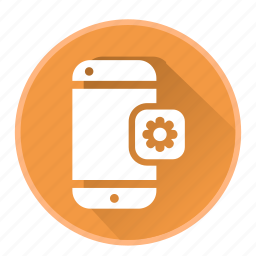 communication, device, phone, setting, smartphone icon