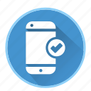 communicationcheck, device, phone, smartphone icon