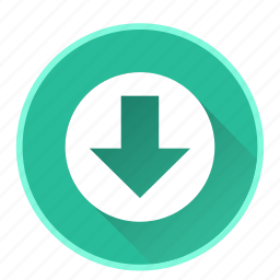 arrowdirectionnavigationdowndownloadsave icon