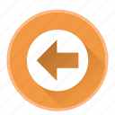 arrowdirectionnavigationleft icon