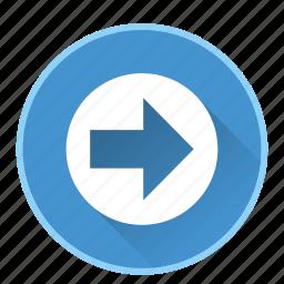 arrowdirectionnavigationright icon