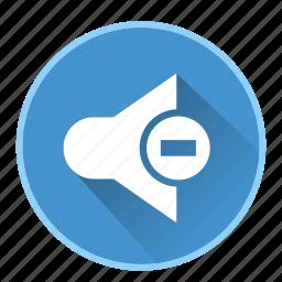 audio, device, loudspeaker, mute, sound, speaker, volume icon