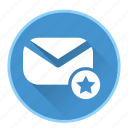 bookmark, chat, communication, email, favorite, mail