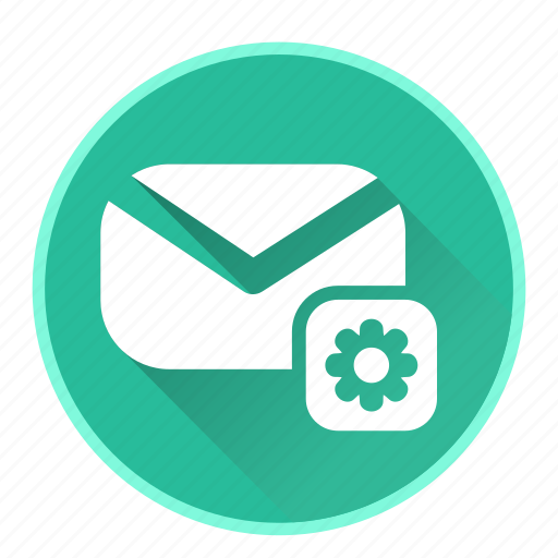 chat, communicationsetting, configuration, email, mail icon
