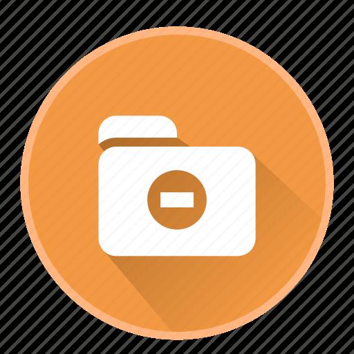 document, file, folder, office, remove icon