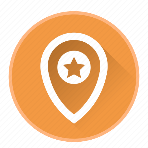 bookmark, location, map, marker, navigation icon