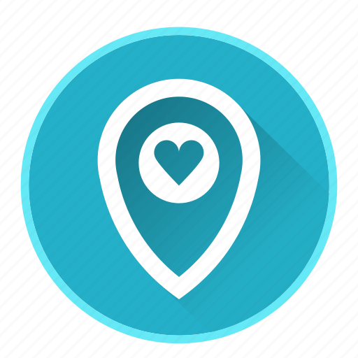 favorite, location, map, marker, navigation icon