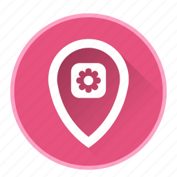 location, map, marker, navigationsetting icon