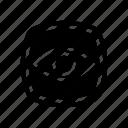 ui, read mode, eye, view, vision icon