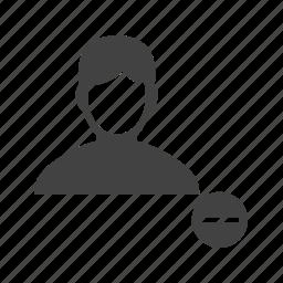delete, image, male, picture, profile, remove, settings icon