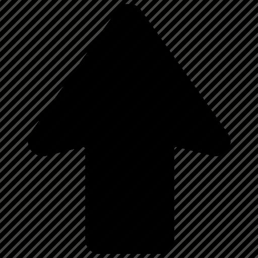 arrow, arrow hint, directional arrow, up arrow, upward icon