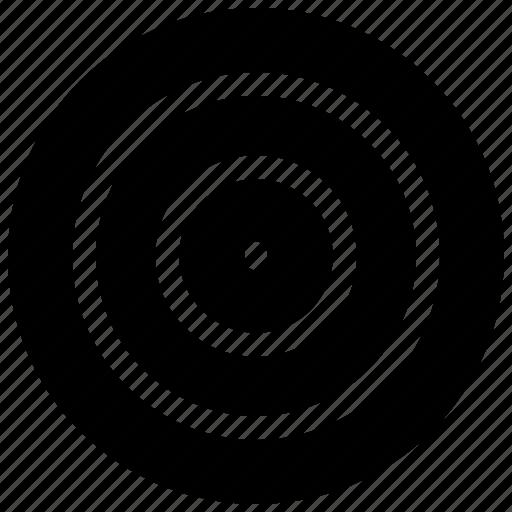 Bullseye, dartboard, focus, goal, target icon - Download on Iconfinder