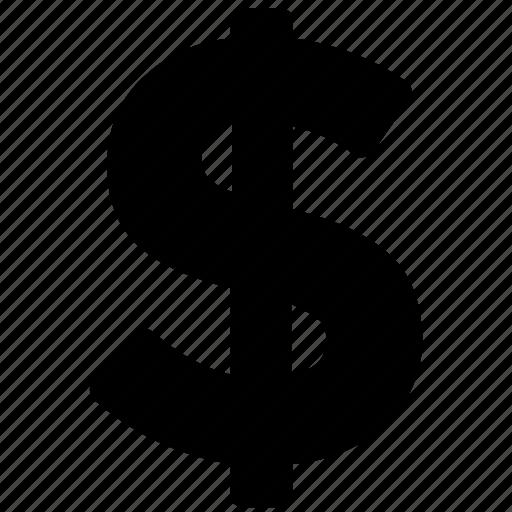 currency symbol, dollar, dollar sign, money symbol, wealth icon