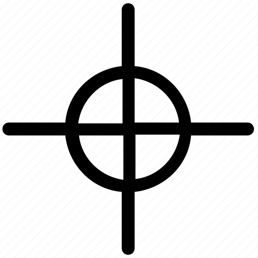 crosshair, optical sight, reticle, shooting target, sight icon