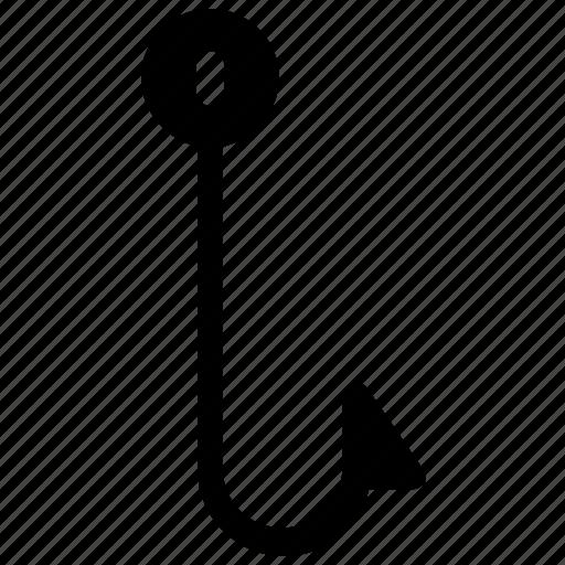 fishing, fishing hook, fishing knot, fishing tool, knot icon