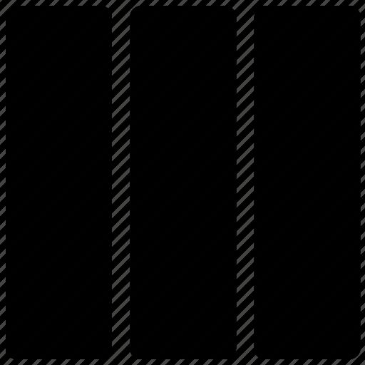 layout, page design, pattern, plan, three column icon