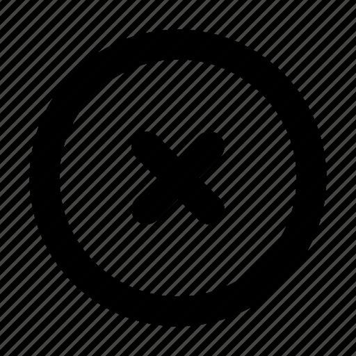 application, apps, cancel, fail, mobile, ui icon