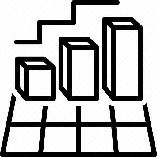 chart, digram, graph, presentation, statistics icon