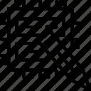 data, data edit, edit, redact icon