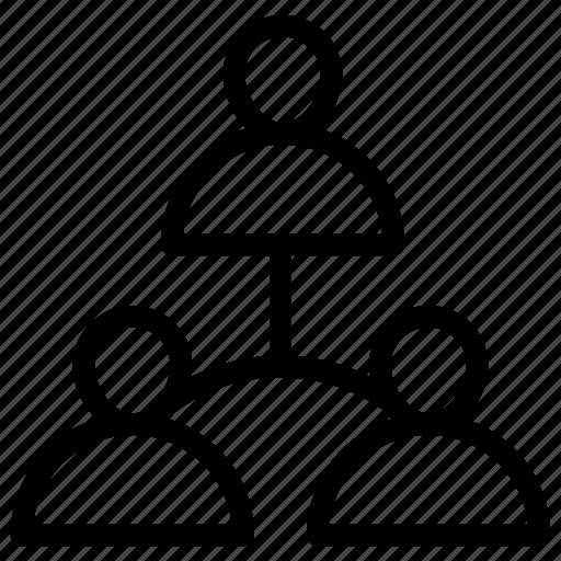 group, management, organization, team icon
