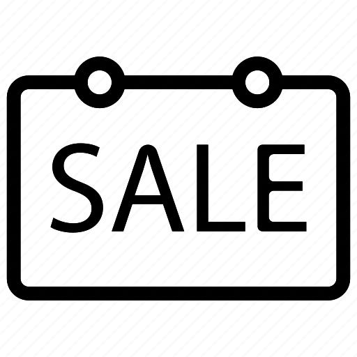 badge, board, sale, tag icon