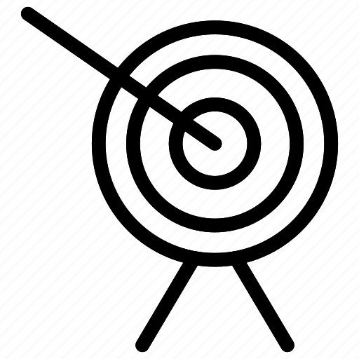 dartboard, goal, success, target icon