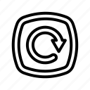 arrow, backup, refresh, reload, repeat, sync, ui