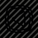 arrow, back, left, media, music, player, previous