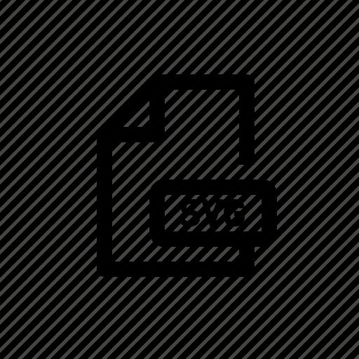 Document, file, format, svg, data, file format icon - Download on Iconfinder