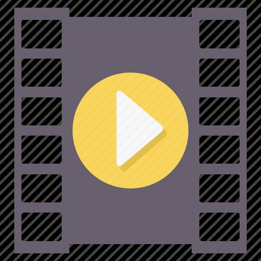 film, media, movie, multimedia, music, player, video icon